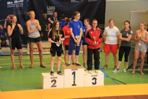 Women Only Podium junior
